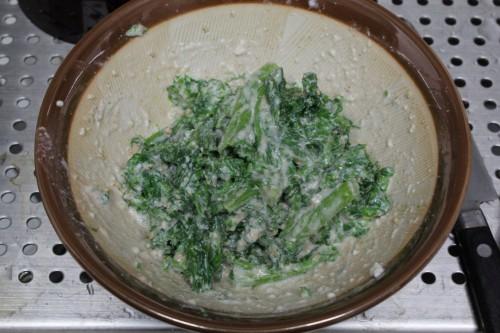 わさび菜/愛彩菜の和え物